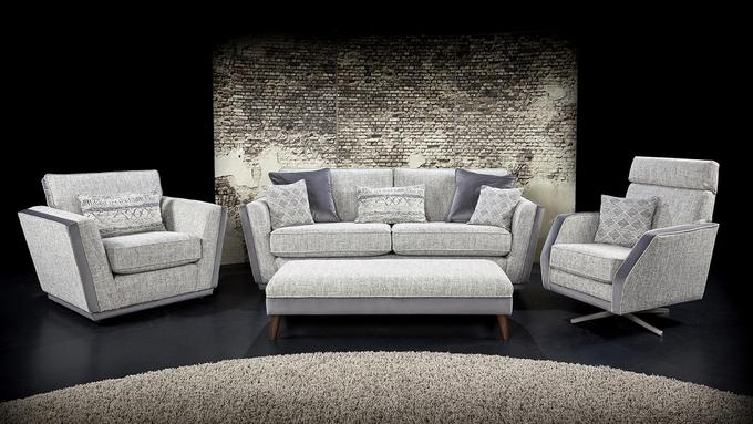 Lebus California Beverly Fabric Sofa Suite