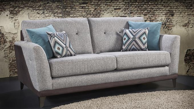 Lebus Dakota Boston Fabric Sofa Suite