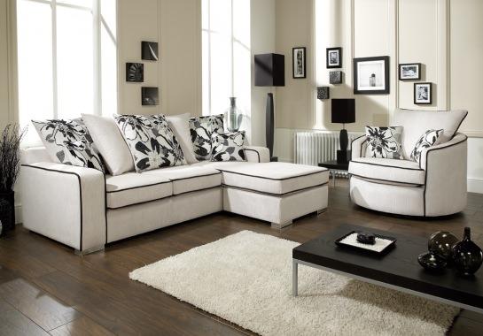 Lebus Francesca Jumbo Cord Fabric Sofa Range