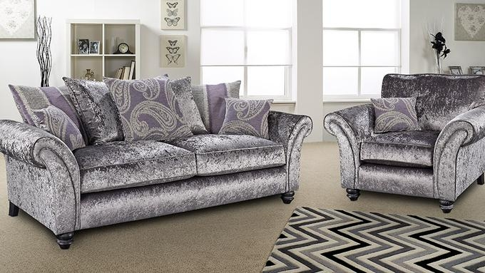 Lebus Vegas Fabric Sofa Suite
