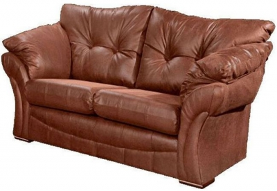Lebus Florida Faux Leather 2 Seater Sofa