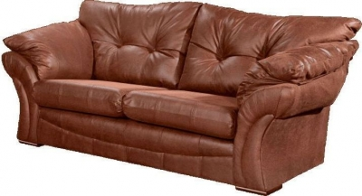 Lebus Florida Faux Leather 3 Seater Sofa