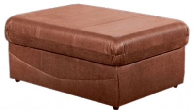 Lebus Florida Faux Leather Footstool