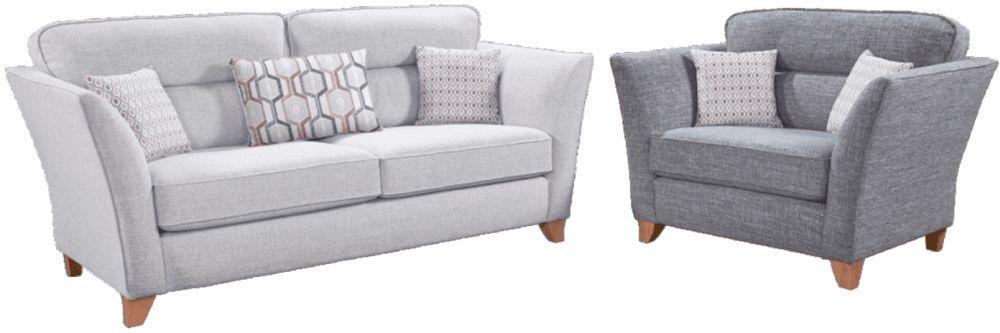Lebus Haven 3+1 Seater Fabric Sofa