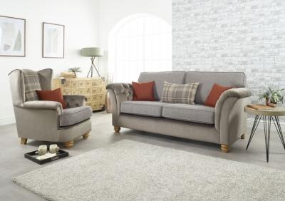 Lebus Ingles 3+1 Seater Fabric Sofa