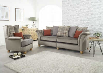 Lebus Ingles 4+1 Seater Fabric Sofa