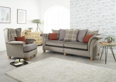 Lebus Ingles 4+1 Seater Fabric Sofa