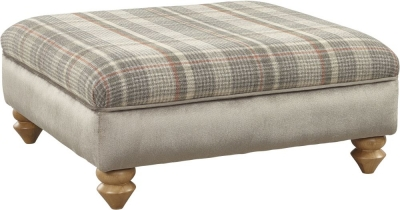 Lebus Ingles Fabric Footstool