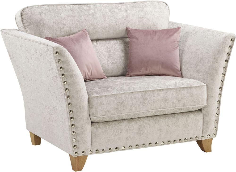 Lebus Paris Fabric Love Chair