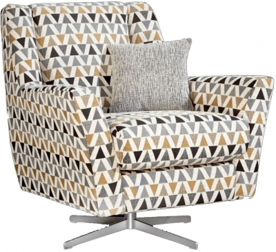 Lebus Vegas Fabric Swivel Chair