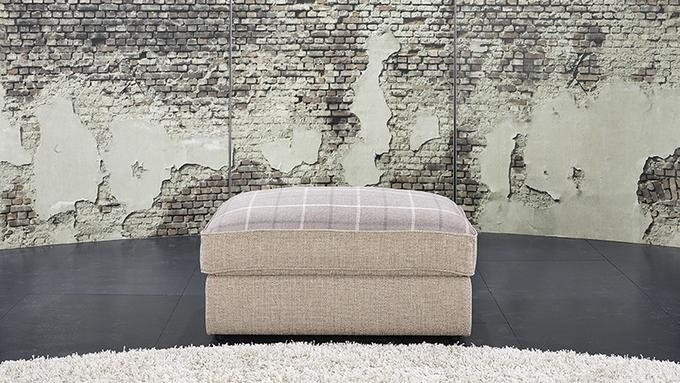 Lebus Lucy Fabric Footstool