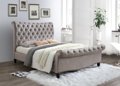 Limelight Larrisa Mink Fabric Bed