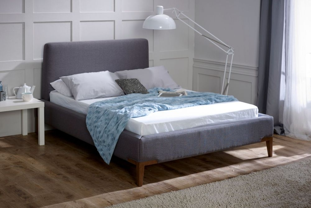 Limelight Andromeda Grey Fabric Bed