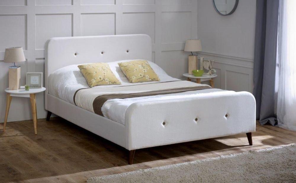Limelight Tucana Ecru Fabric Bed