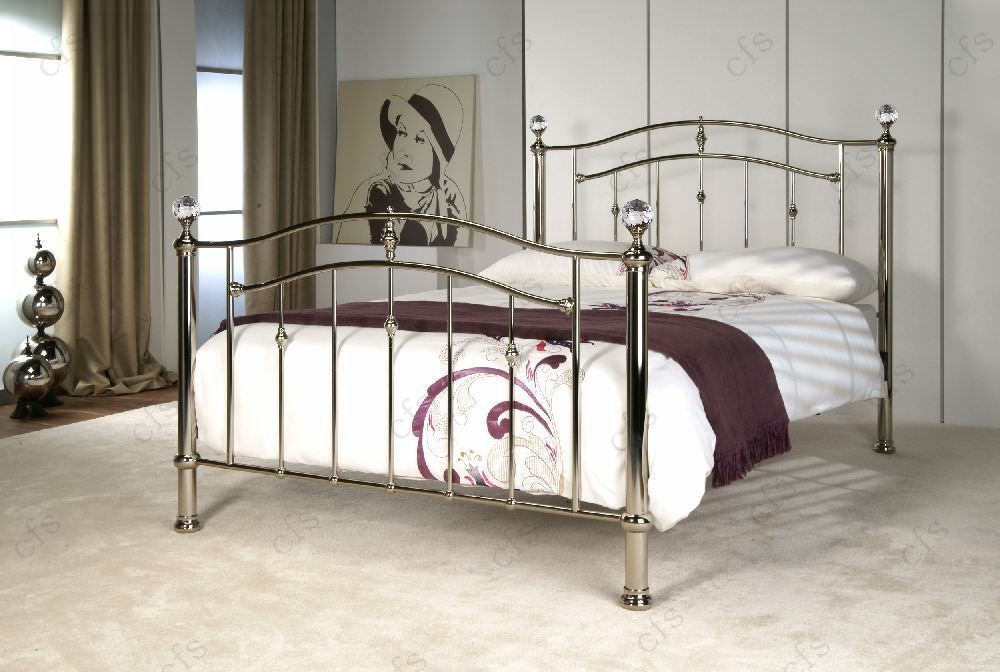 Limelight Callisto Chrome Metal Bed