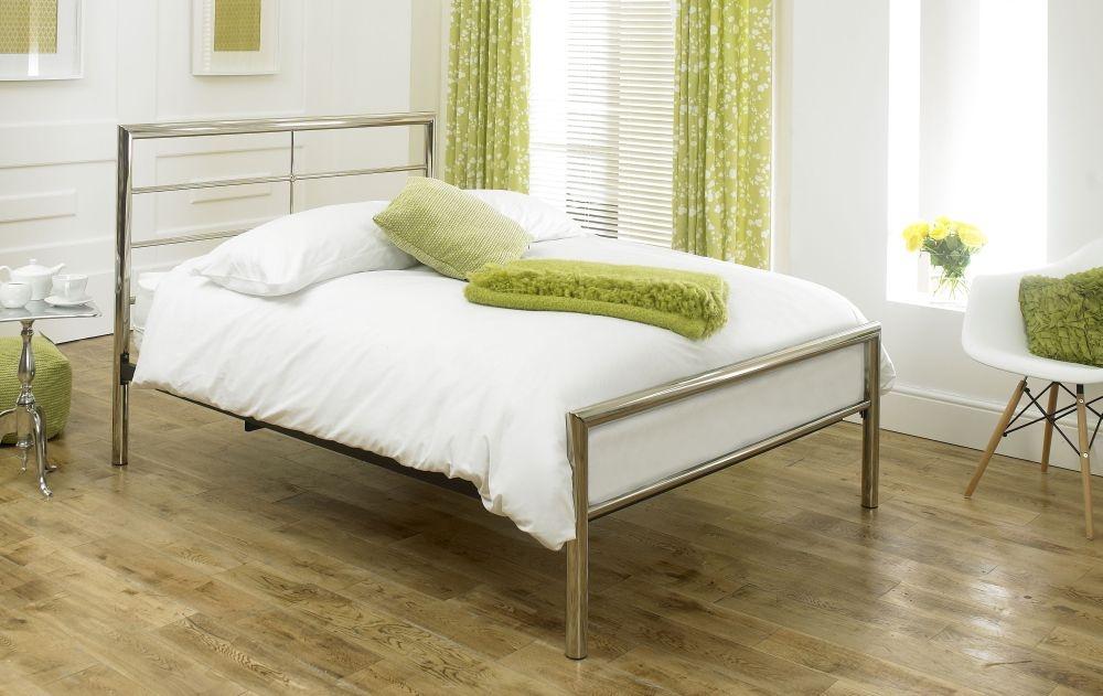 Limelight Celestial Chrome Metal Bed