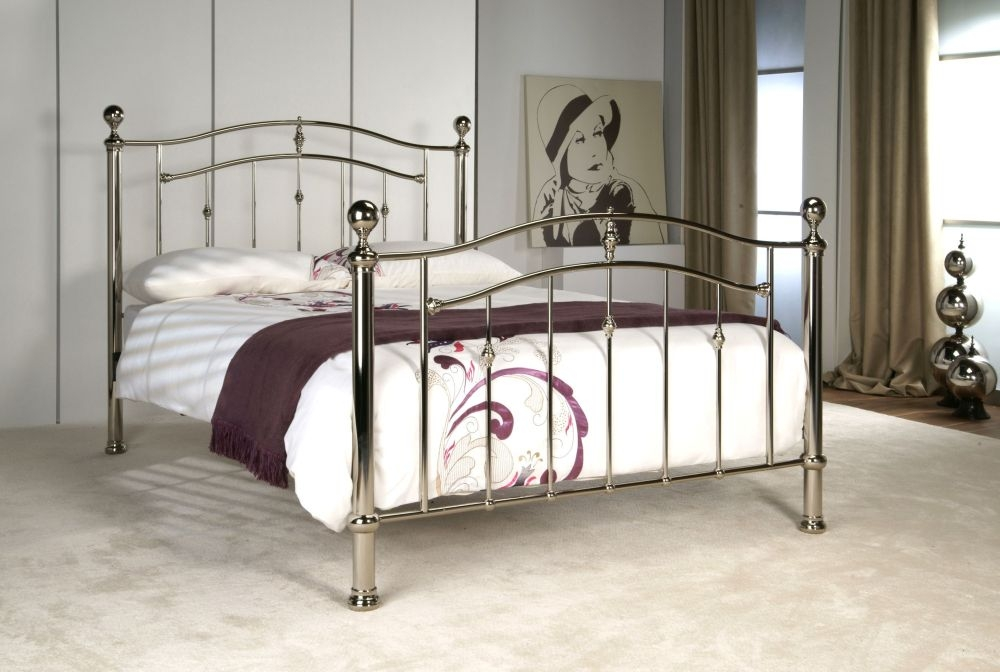 Limelight Lyra Chrome Metal Bed