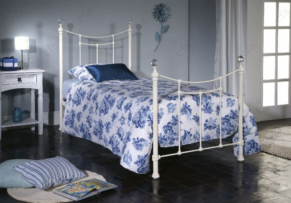 Limelight Metis Ivory Metal Bed