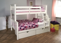 Limelight Pavo White High Sleeper Bunk Bed