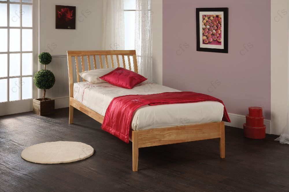 Limelight Ananke Natural Wooden Bed