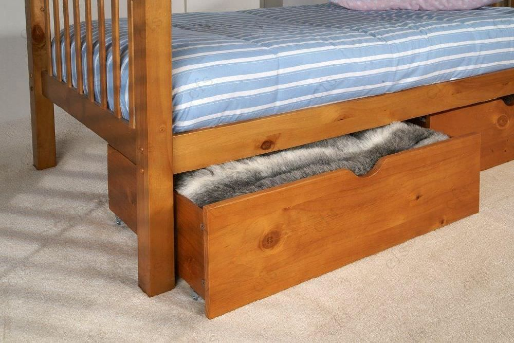 Limelight Pavo Pine Under Bed Drawers