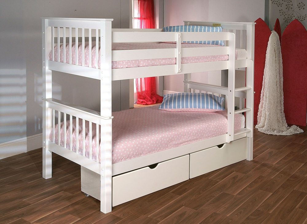 Limelight Pavo White Bunk Bed