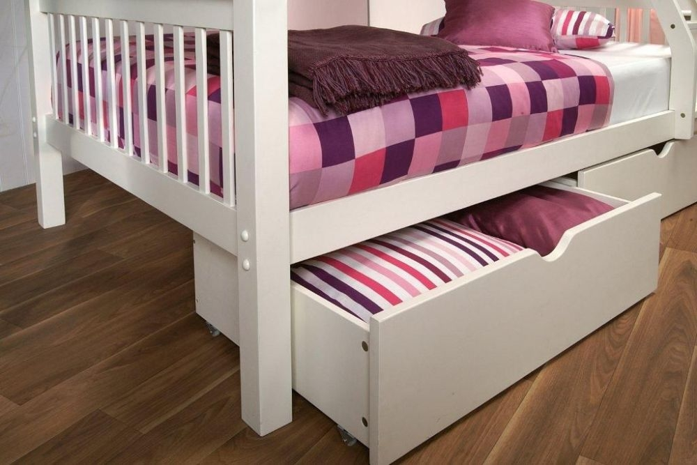 Limelight Pavo White Under Bed Drawer