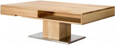 Koge Oak 1 Drawer Storage Coffee Table