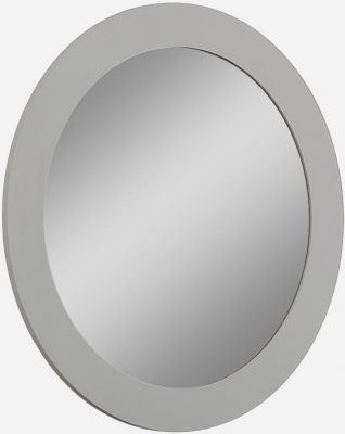Eros Cashmere High Gloss Oval Mirror