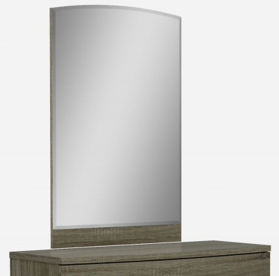 Lansbury Havana Oak Rectangular Mirror