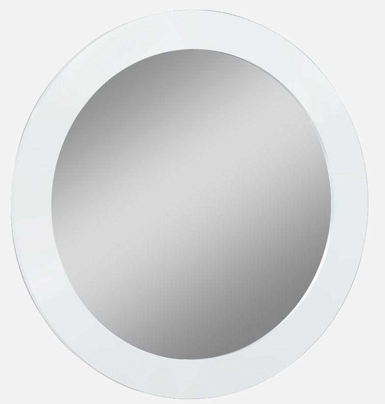 Neptune White High Gloss Bedroom Mirror