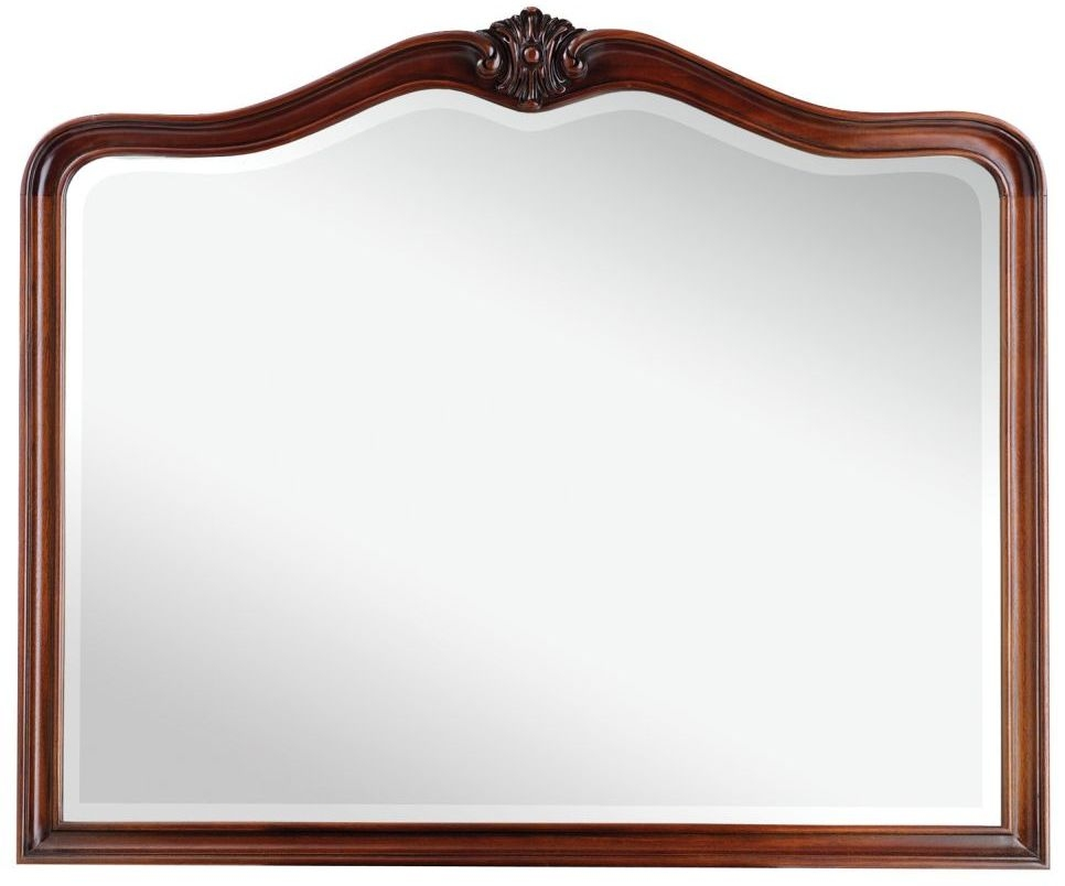 Broughton Solid Mahogany Bedroom Mirror