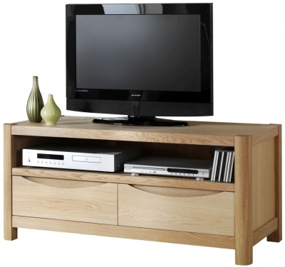 Romana Oak 2 Drawer TV Unit
