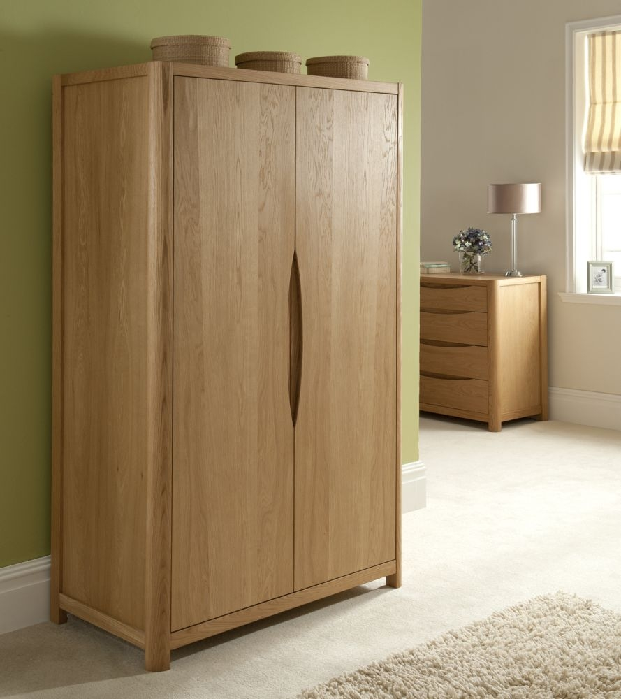 Romana Oak 2 Door Wardrobe