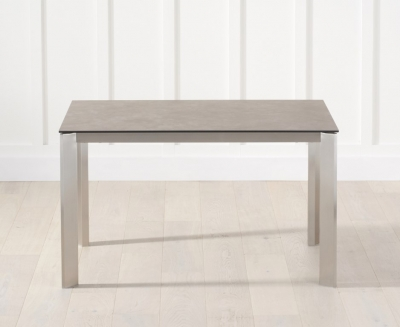Mark Harris Alejandra Ceramic Dining Table - Brown Italian