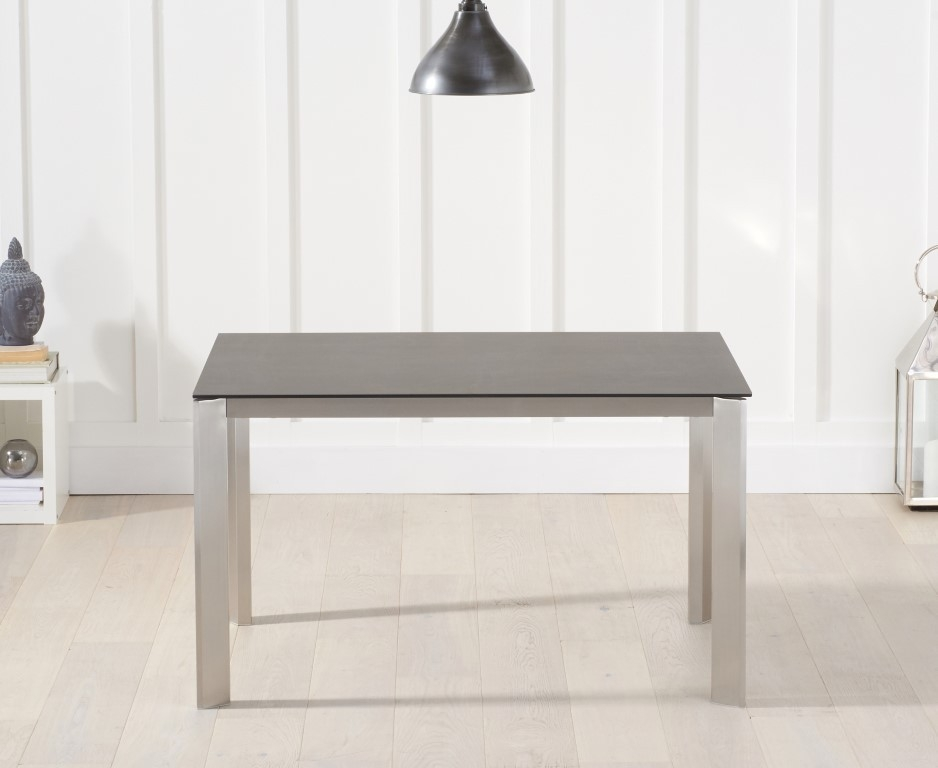Mark Harris Alejandra Ceramic Dining Table - Mink Spanish