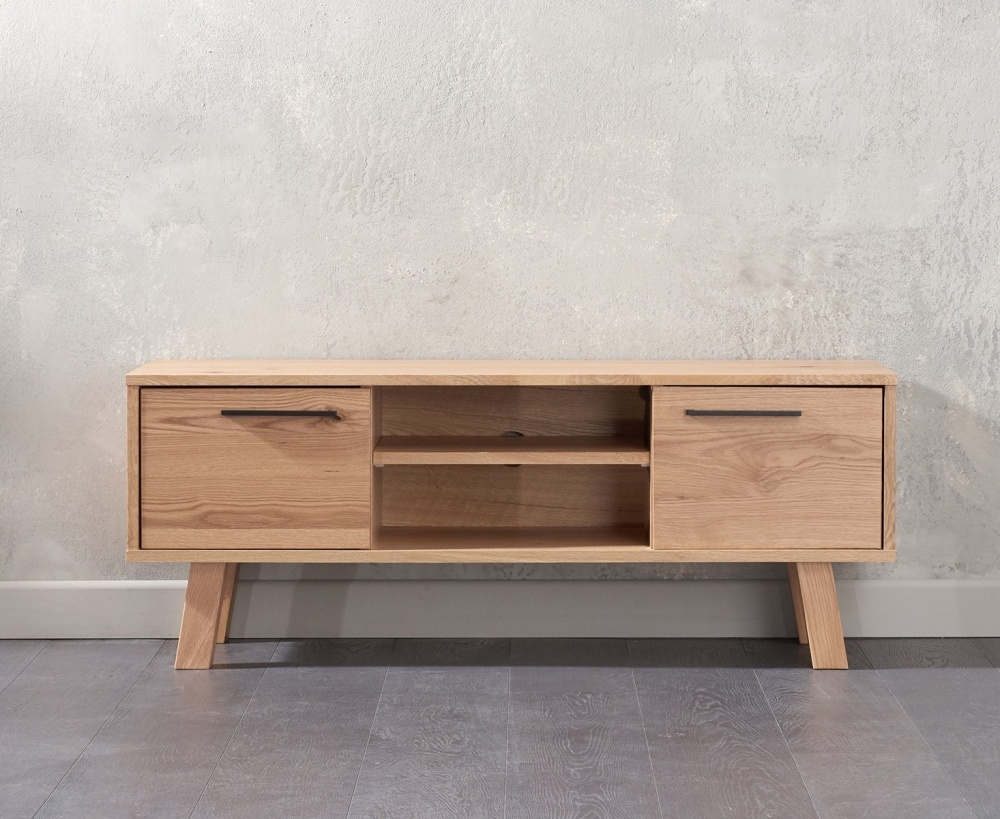 Mark Harris Anneli Oak TV Unit