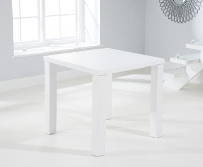 Mark Harris Ava Matt White 80cm Dining Table