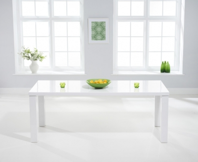 Mark Harris Ava White High Gloss 180cm Dining Table