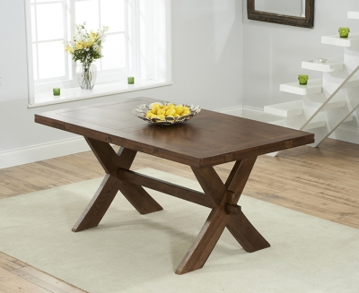 Mark Harris Avignon Solid Dark Oak Dining Table - 165cm Extending