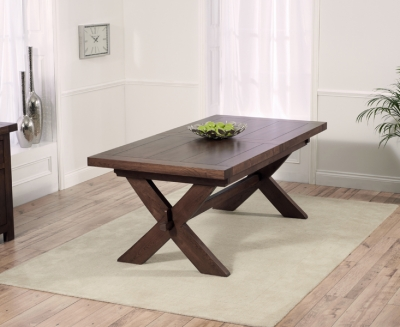 Mark Harris Avignon Dark Oak Extending Dining Table