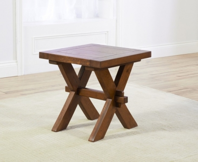 Mark Harris Avignon Solid Dark Oak Lamp Table