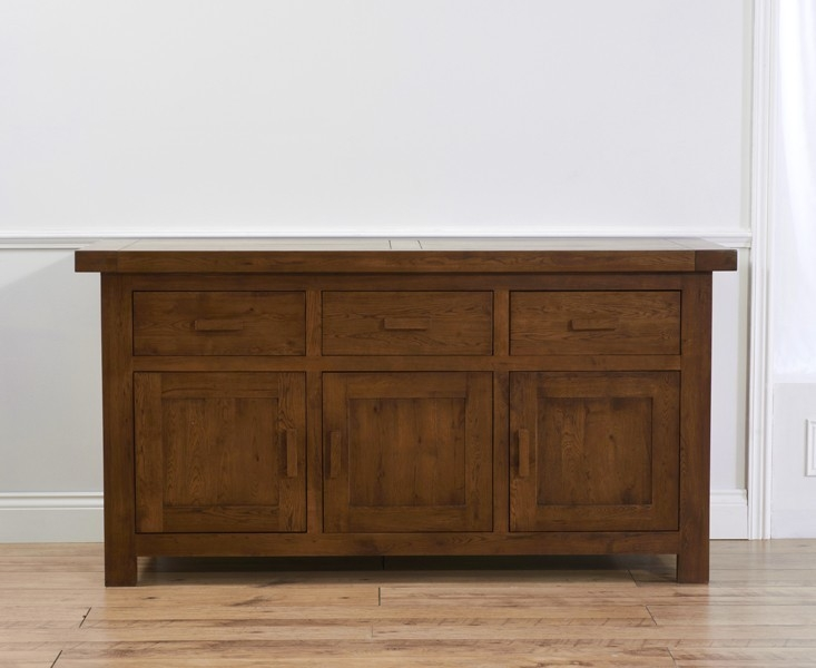 Mark Harris Avignon Dark Oak Wide Sideboard