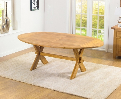 Mark Harris Avignon Solid Oak Dining Table - 165cm Extending