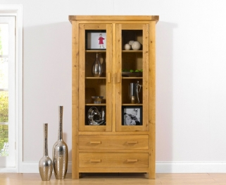 Mark Harris Avignon Solid Oak Display Unit