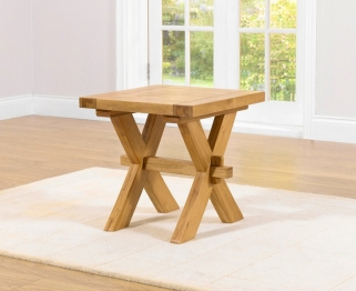 Mark Harris Avignon Solid Oak Lamp Table