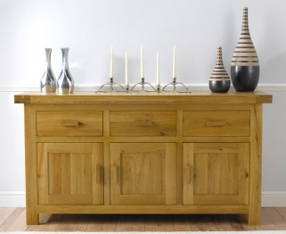 Mark Harris Avignon Solid Oak Large Sideboard