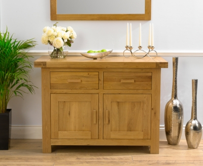 Mark Harris Avignon Solid Oak Sideboard - Medium