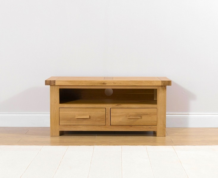 Mark Harris Avignon Solid Oak Medium TV Unit