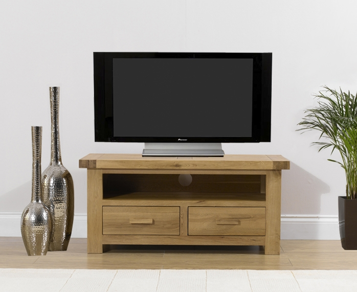 Mark Harris Avignon Solid Oak TV Unit - Medium